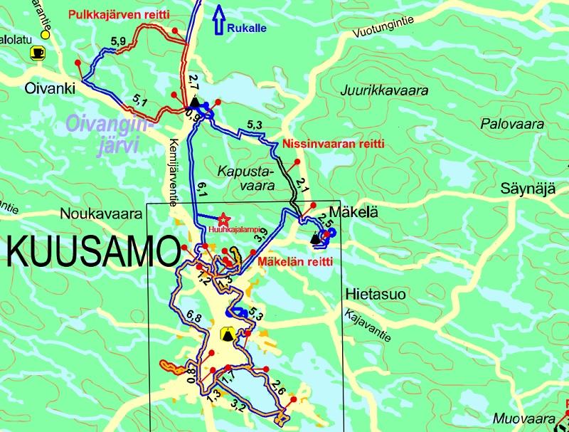 Holiday Cottages In Ruka And Kuusamo Huuhkaja 1 Vuosselin Majat